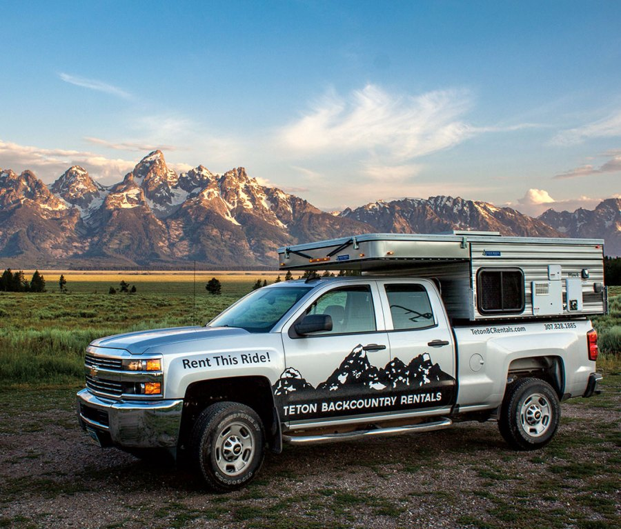 Teton Backcountry Rentals in Jackson, Wyoming