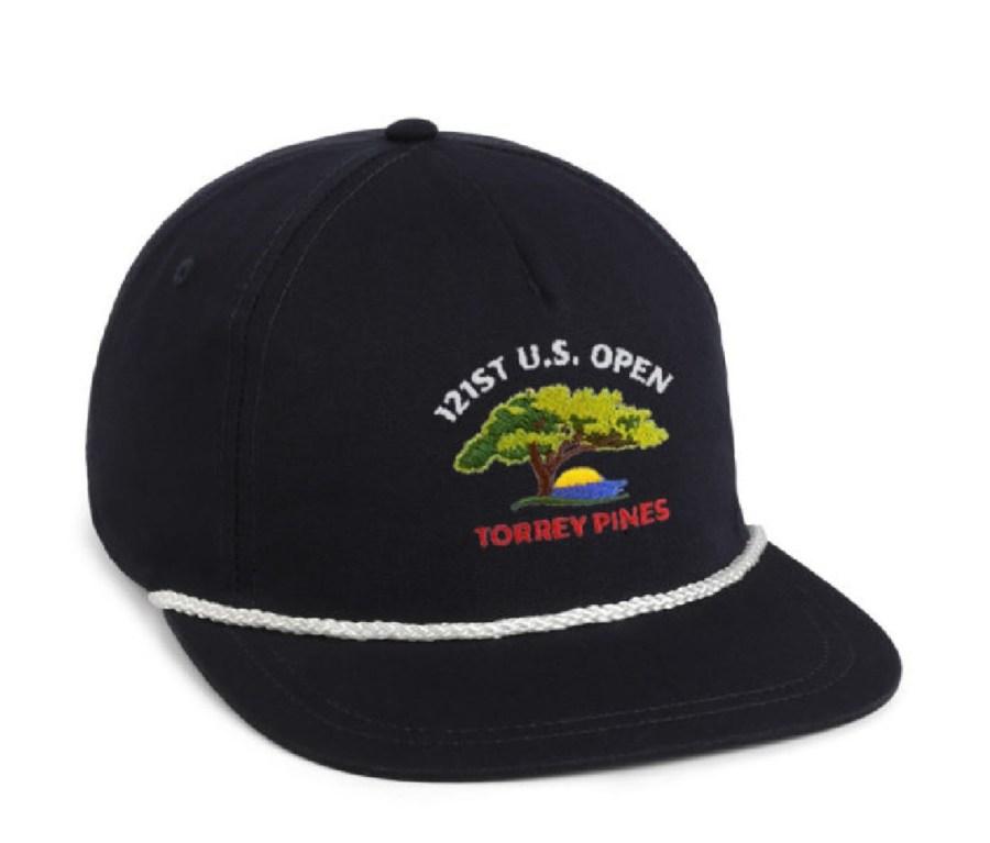 US Open Torrey Pines Cotton Rope Cap