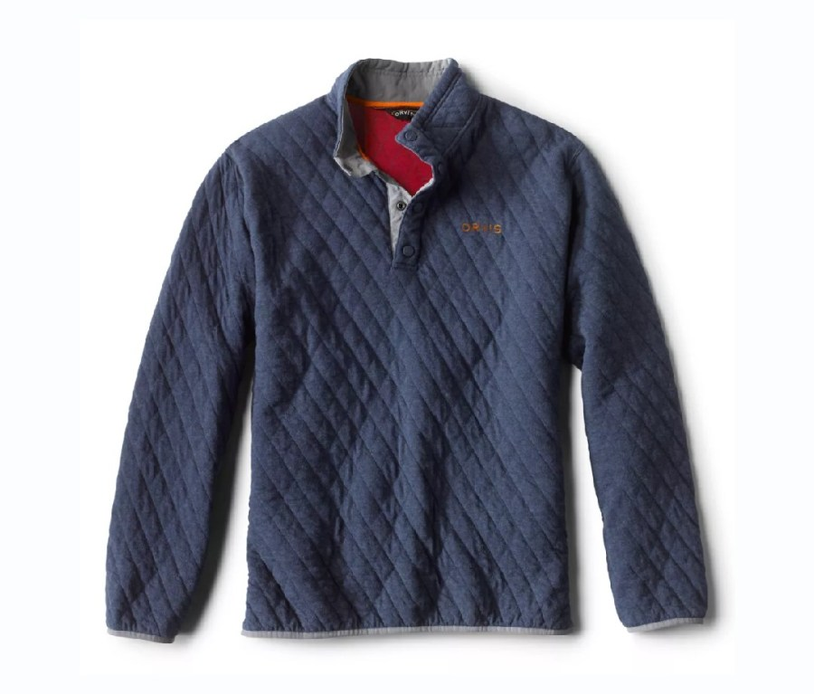 Orvis Quilted Snap Sweatshirt