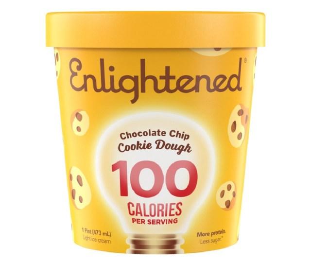 Dit is het eiwitrijke, suikerarme ijs waar je naar op zoek was. Enlightened Ice Cream is echt ijs maar dan van het soort waar je je niet schuldig over hoeft te voelen.