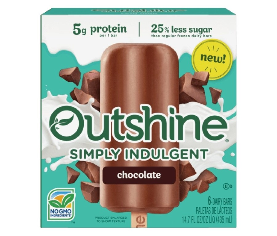 Outshine Fruit Bars are made with real fruit, no GMO ingredients, no high fructose corn syrup, and no artificial colors or flavors. The bars contain a simple ingredient list with a nutrition label featuring words you can pronounce and they take pride in making feel-good treats for you to enjoy all summer.