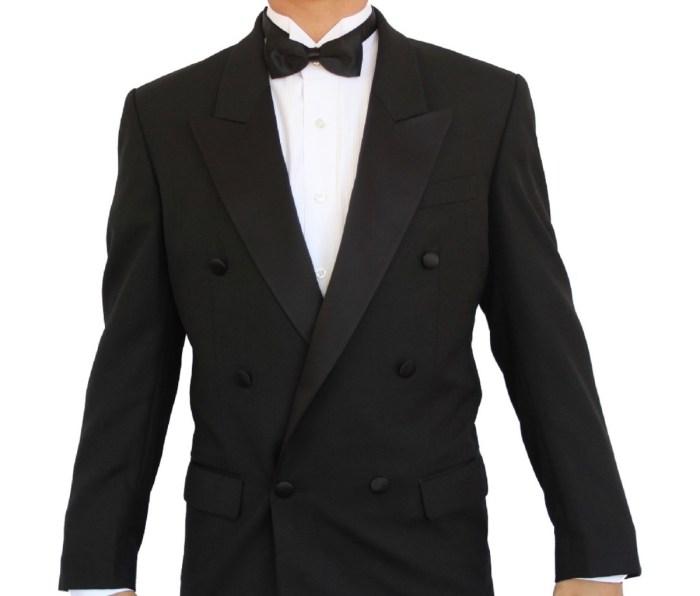 A New Era Factory Outlet, Inc. tuxedo jacket.