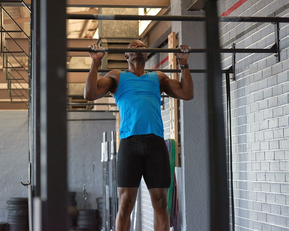 exercise face off pullup