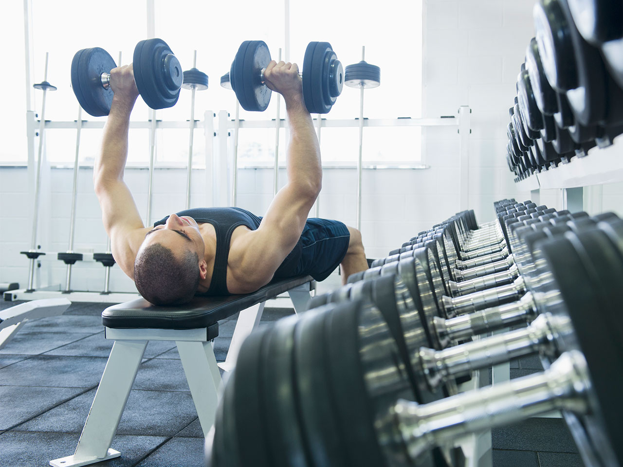gym chest chair big joe bean bag camo the 10 best exercises for beginners blend images dave and les jacobs getty 4