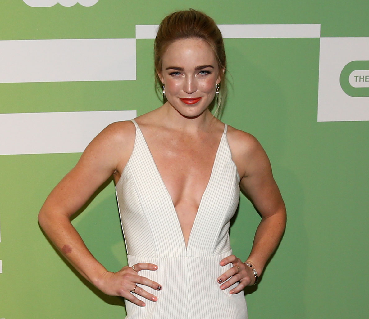 caity lotz is the