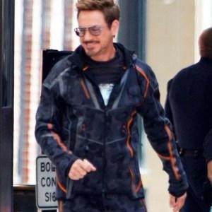 avenger infinity war tony stark jacket