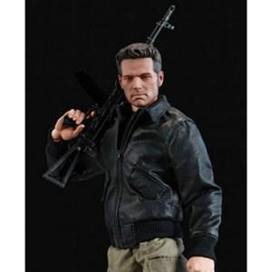Claude Grand Theft Auto Black Bomber Jacket
