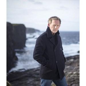 Douglas Henshall Shetland DI Jimmy Perez Pea Coat