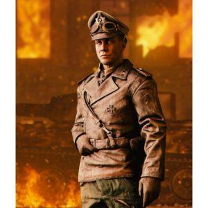 Peter Müller Battlefield V Distressed Leather Brown Jacket