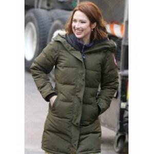 Ellie Kemper The Stand In Puffer Coat