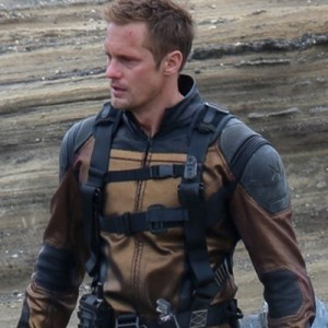 Godzilla Vs Kong 2021 Alexander Skarsgård Leather Jacket