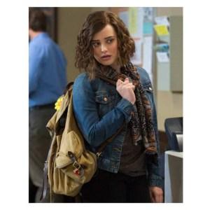 13 Reasons Why Hannah Baker Blue Jacket