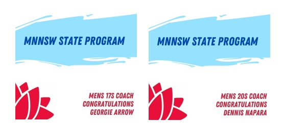 NSW Youth Coaches Named