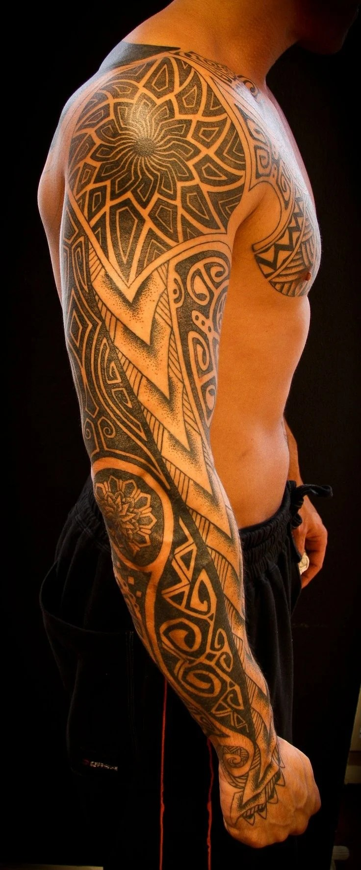 arm tattoos men - design