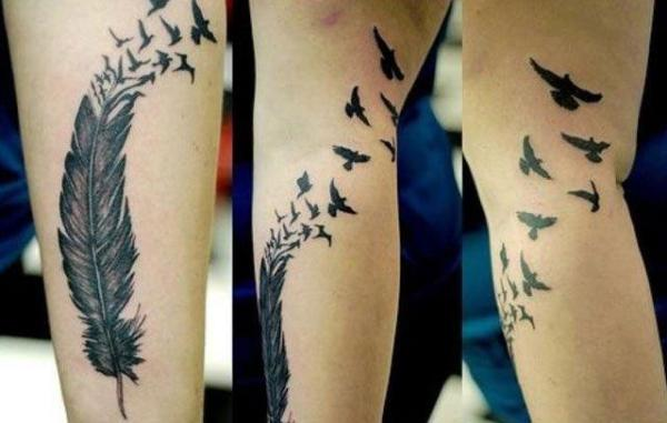 bird tattoos men - tattoo