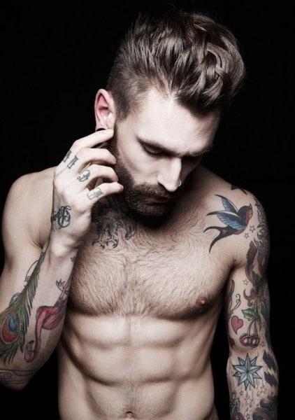bird tattoos men - tattoo