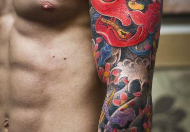 Tribal Arm Sleeve Tattoo Designs