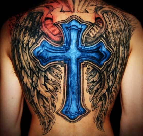 Cross Tattoo Designs On Shoulder