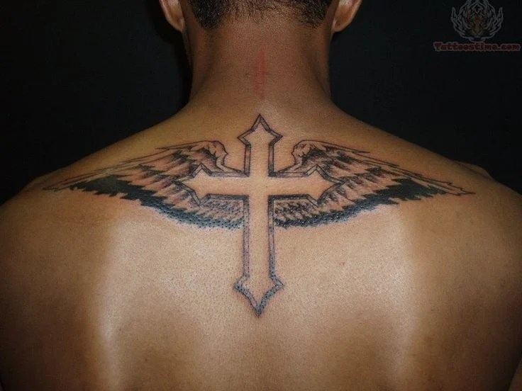 Cool Cross Tattoos For Men