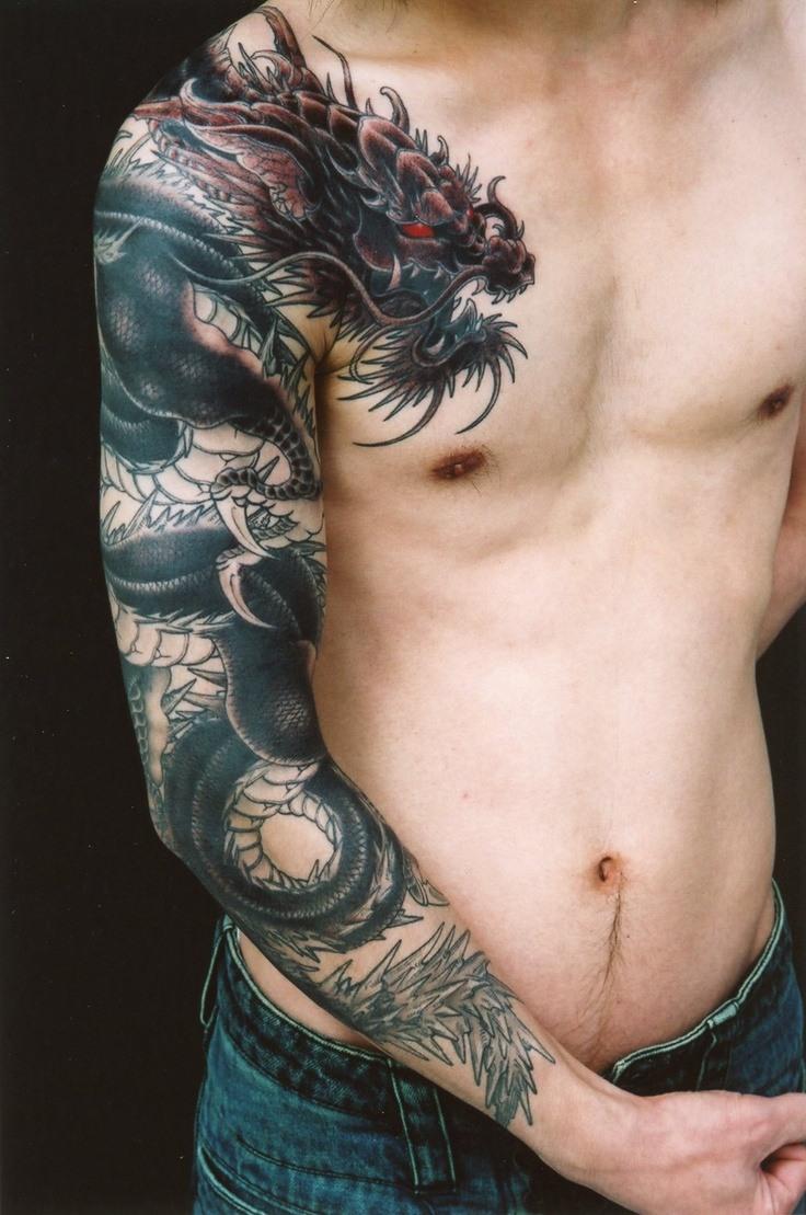 dragon tattoos men