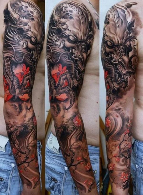 sleeve tattoos men - design
