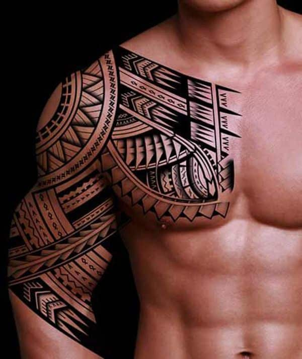 Chest Tattoo Ideas For Black Men