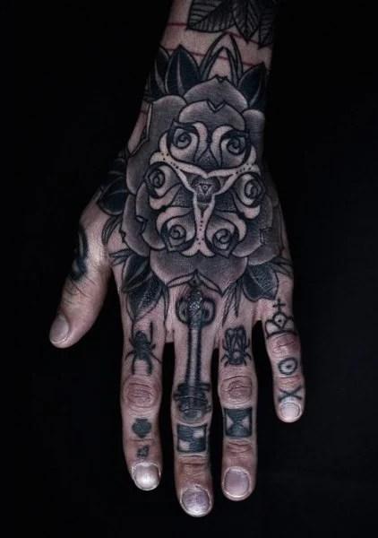 Full Hand Tattoo Designs For Guys