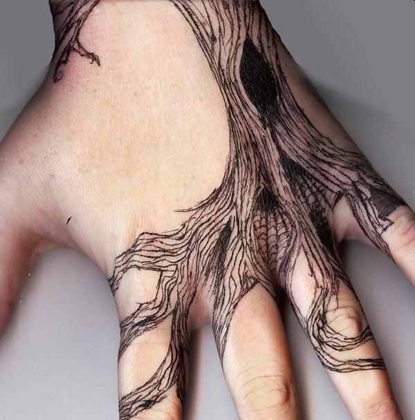 Jesus Christ Tattoo Hand