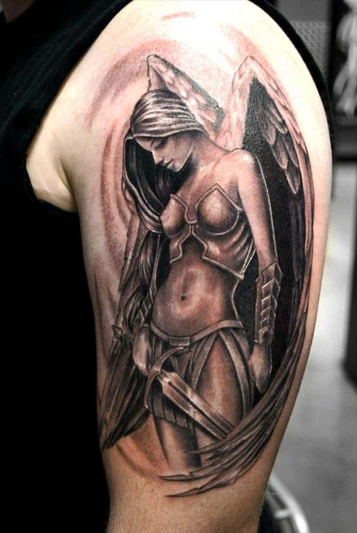 Tattoo Designs Angel Of Death