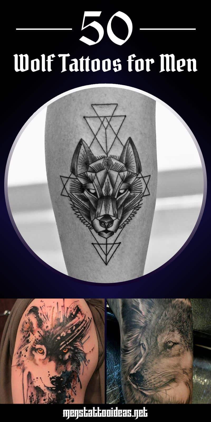 Wolf Tattoo Unterarm