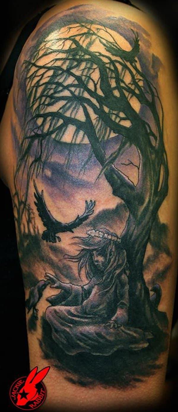 White Tattoos Ideas
