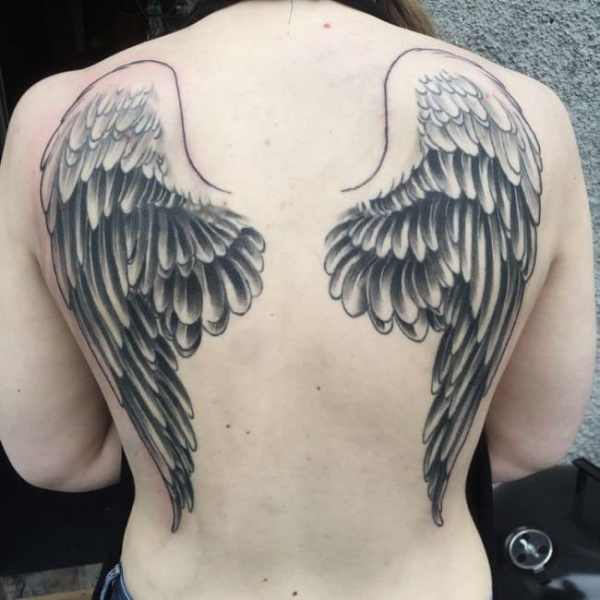 20 Archangel Wing Tattoos Ideas And Designs