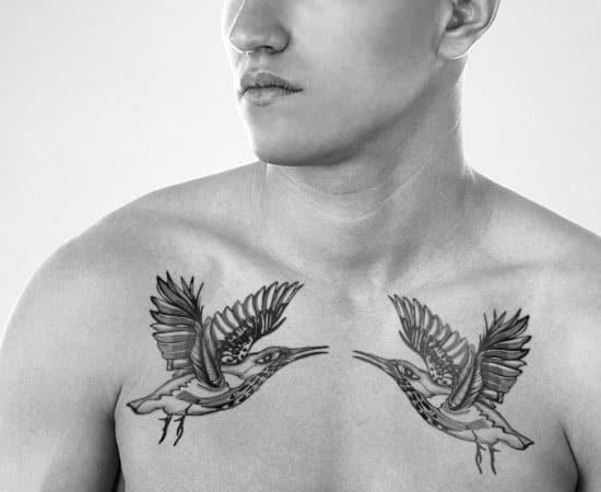 hummingbird tattoos men - ideas