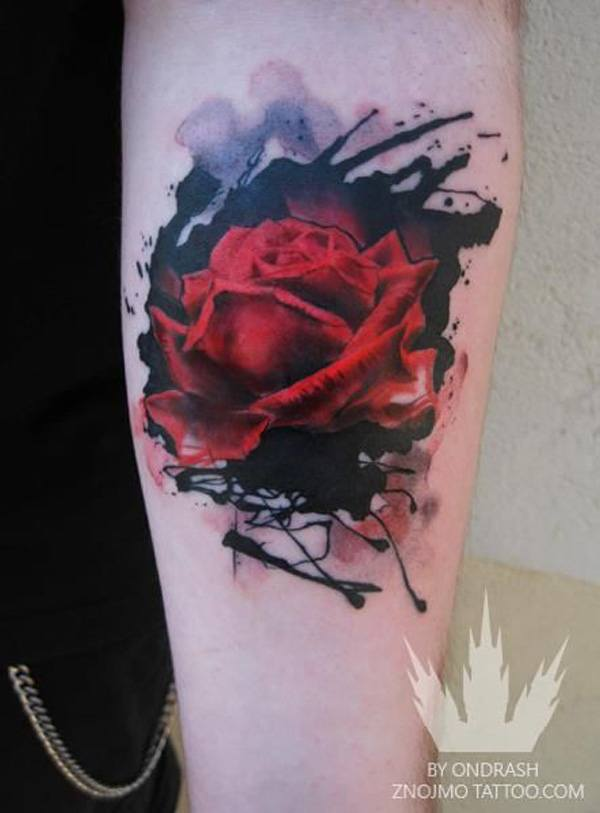 Black Rose Hand Tattoo Meaning