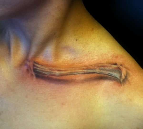 Tattoo Collarbone