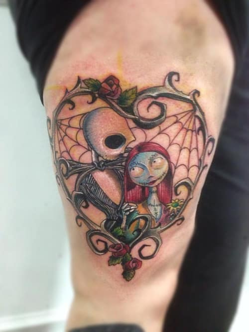 Twisted Alice In Wonderland Tattoos