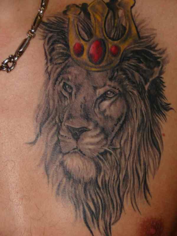 leo tattoos men - ideas