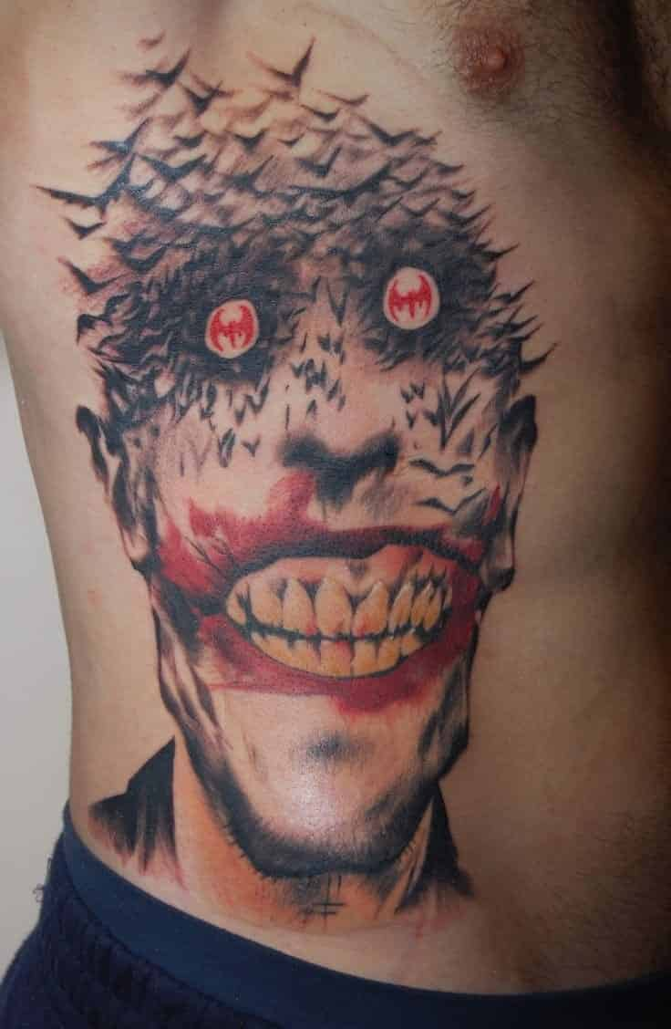 Joker Tattoo Design On Hand
