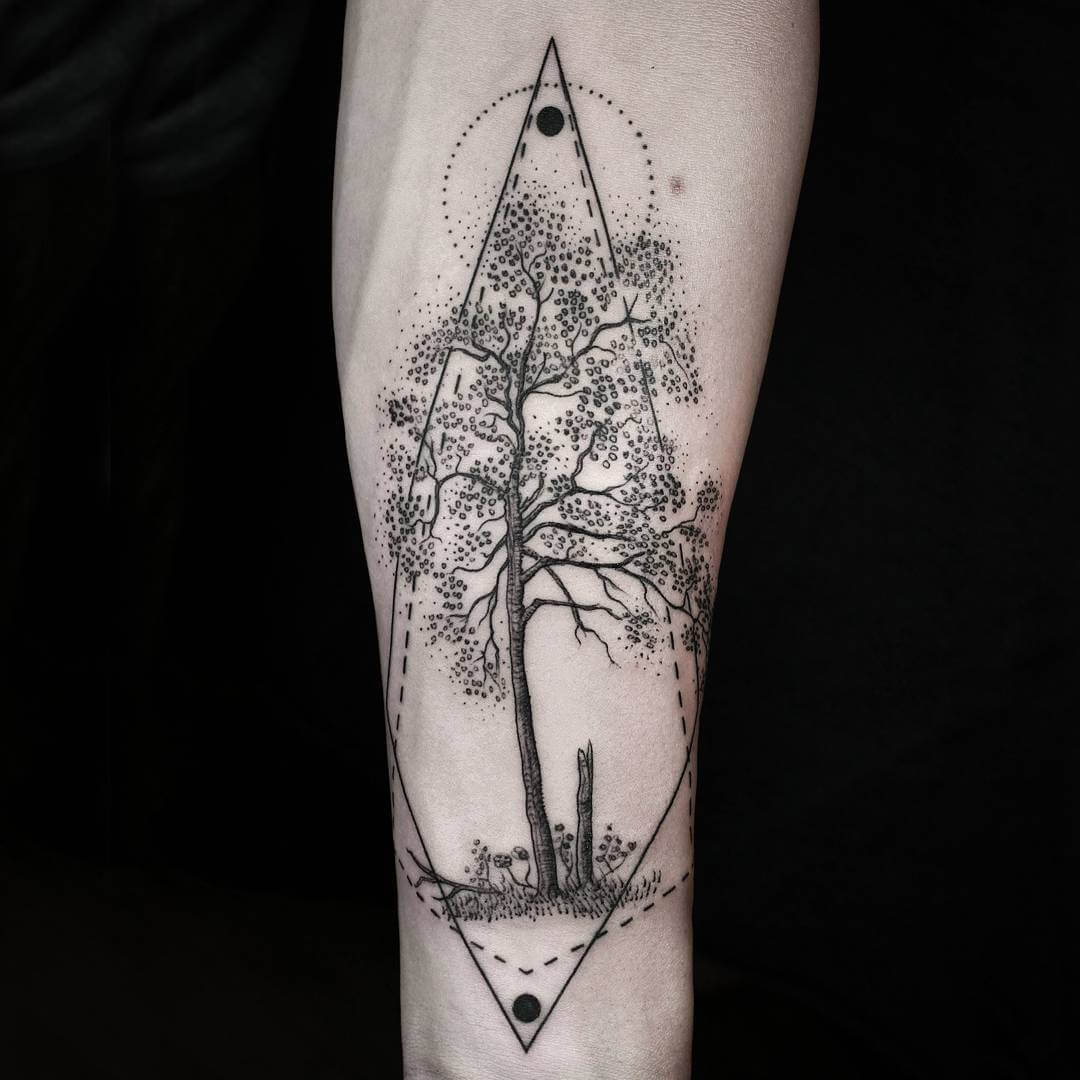 Minimalist Geometric Tattoo Tumblr