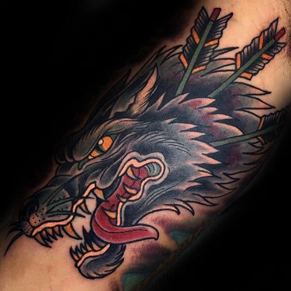 Inner Arm Tattoos Men