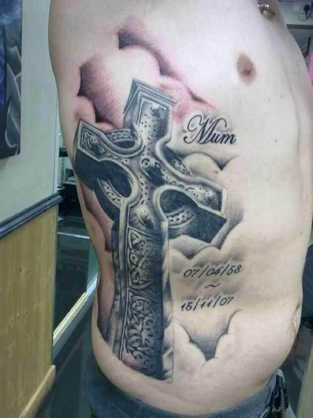 Cross Tattoos For Men Shoulder