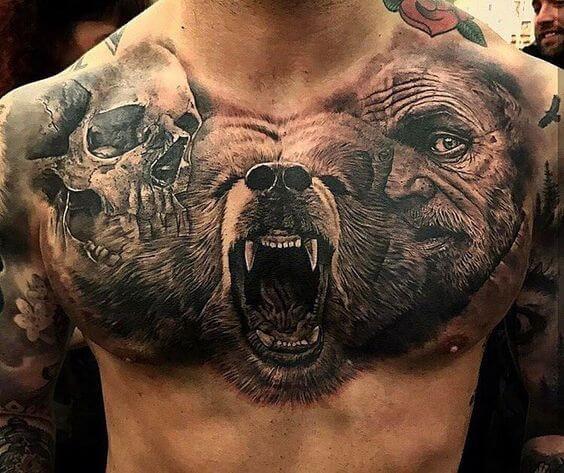 badass tattoos men - ideas