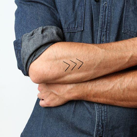 Side Wrist Tattoo Men