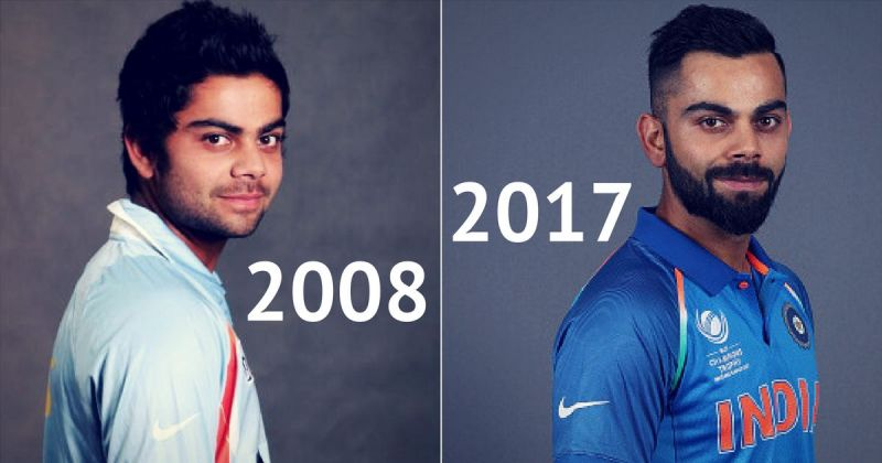 Virat Kohli : Evolution of a style icon over the years.