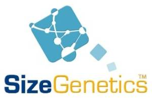 sizegenetics logo since 1996