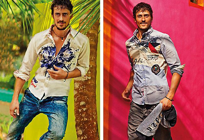 Desigual Men's Shirts Spring Summer 2012 -  Eric Monjoin showing of new and good collection