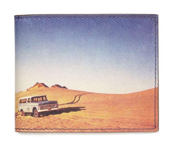 Jack Spade Landscape Print Wallet - Desert Landscape