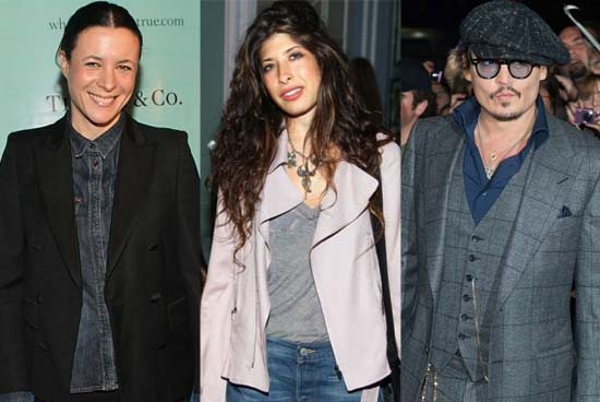 CFDA awards 2012 Johnny Depp - wearing three piece suit and round glasses