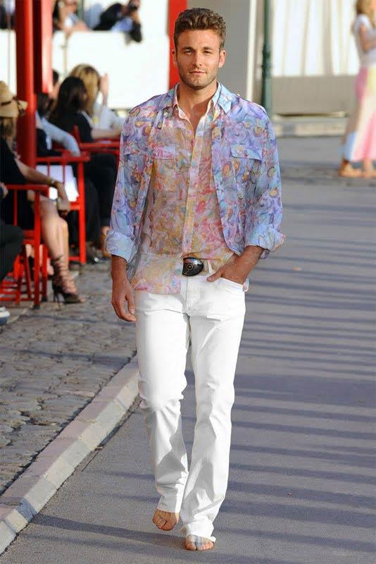 Chanel floral prints for Men