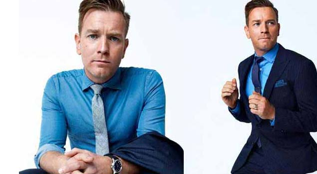 Ewin Mcgregor Blue Suits For men